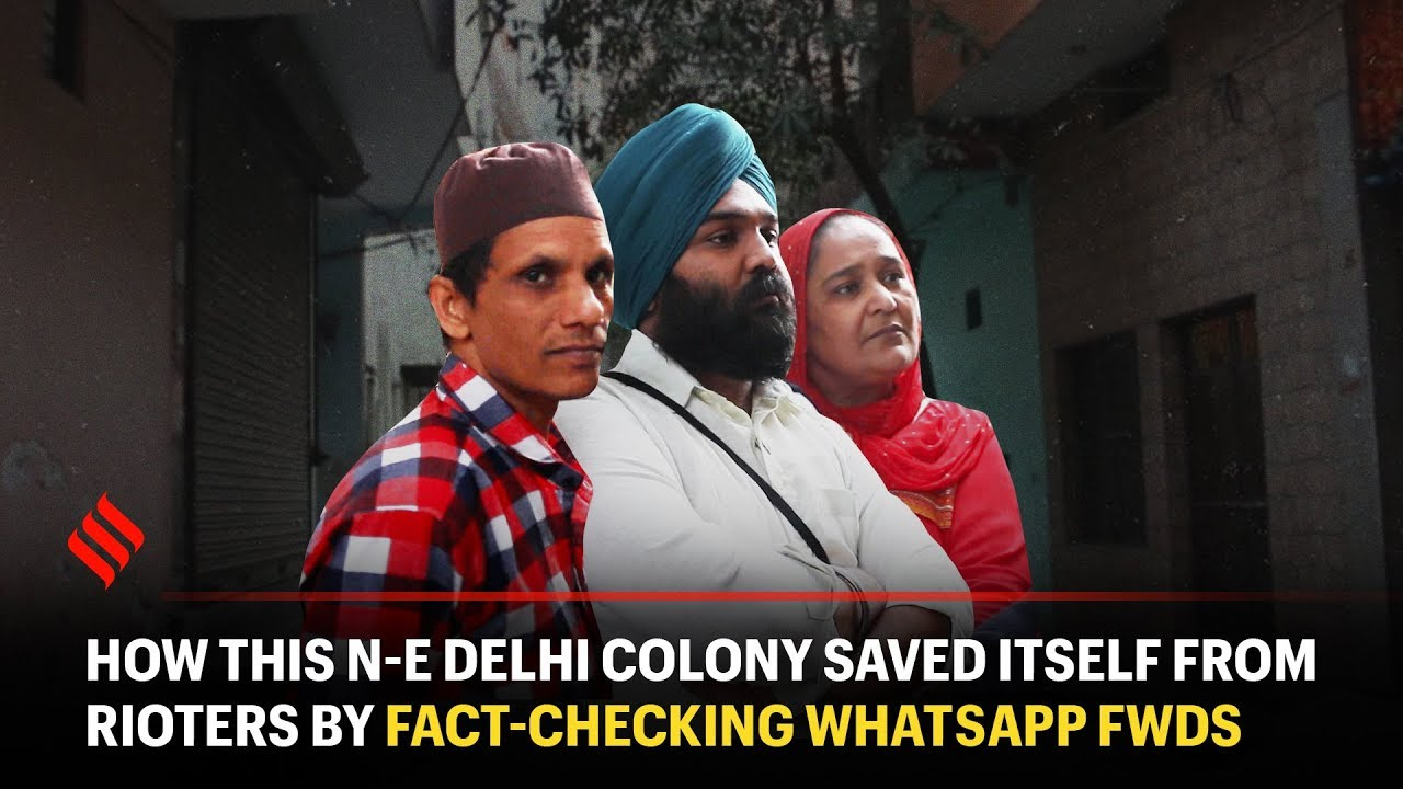 This Delhi Colony Saved Itself From Rioters By Fact-Checking WhatsApp Fwds