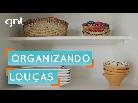 Organizando louças com a Fê Paes Leme | Organização | Santa Ajuda | Micaela Góes