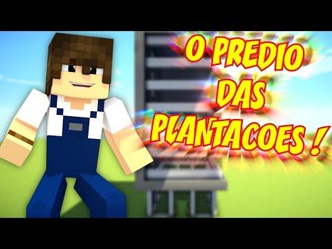 Minecraft: O PRÉDIO DAS PLANTAÇÕES! - A FAZENDINHA #18