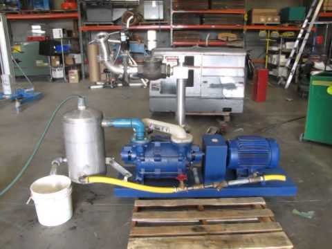 *SOLD* Kinney 15 HP KLRC-200 Liquid Ring Vacuum Pump