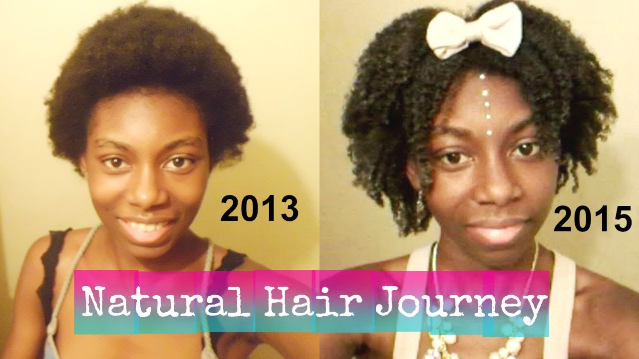 Natural Hair Journey After The Big Chop