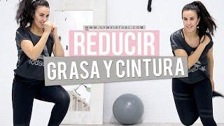 Cómo eliminar grasa y reducir cintura | CARDIO 35 MINUTOS