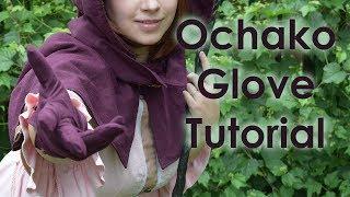 Ochako Fantasy AU Cosplay Tutorial [BNHA] Part 3: Glove [FINAL]