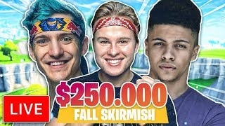 FALL SKIRMISH $250.000 TOURNAMENT LIVE!! - Royalistiq Fortnite Livestream (Nederlands)