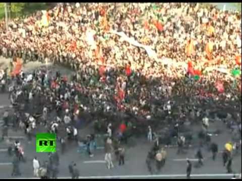 Марш Миллионов: Столкновения