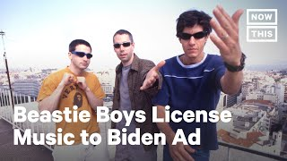 Beastie Boys Give Biden Permission to Use Music in Ad | NowThis