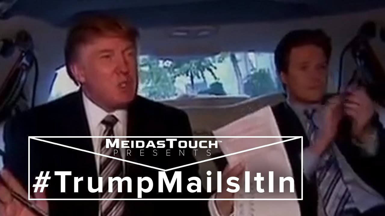 Trump Mails It In: Newly Unearthed 'Access Hollywood' Tape