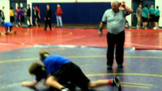 Jacob Shea Middle School Wrestling 2011