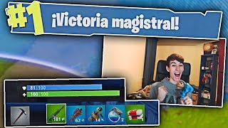 MI VICTORIA MAS PERFECTA EN FORTNITE!! Fortnite battle royale