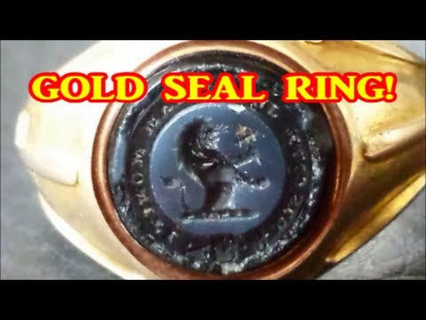 Metal detector finds GOLD, SILVER and a SATANIC GOAT!!!