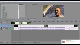 Как заменить фон в видео с помощью программы Sony Vegas Pro.