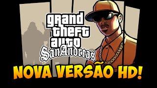 GTA San Andreas REMASTERIZADO em HD - Gameplay da Nova versão!