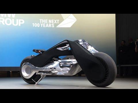 BMW Motorrad VISION NEXT 100 global debut in Los Angeles