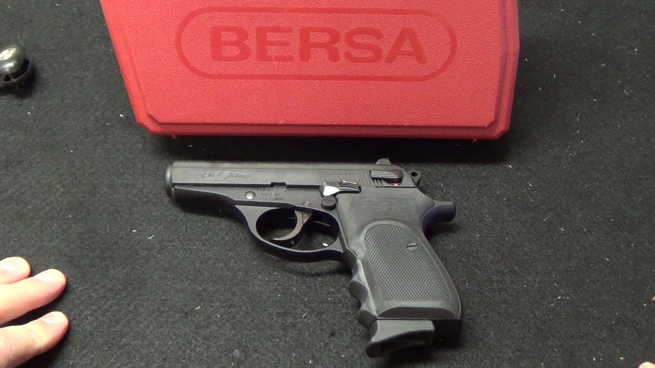 Bersa Firestorm 380 Unboxing and Review