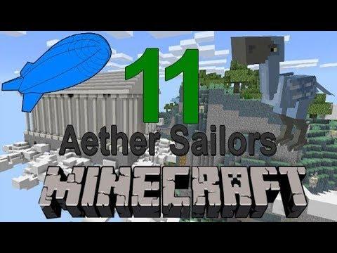 Alumite Pickaxe - Minecraft Aether Sailors Díl 11 - RODMEN Cz/sk