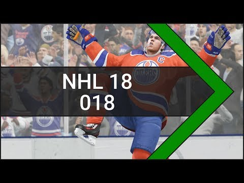 Let's Play NHL 18 [Xbox One] #018 Edmonton Oilers vs. New York Rangers