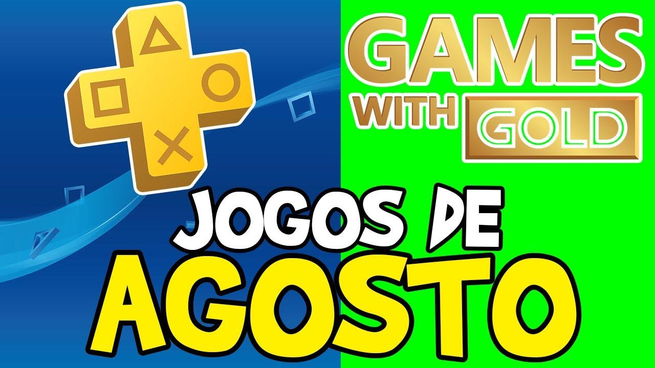 JOGOS DA PS PLUS E GAMES WITH GOLD DE AGOSTO!