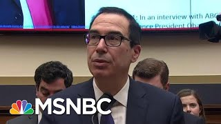 Treasury Sec Mnuchin Struggles When Asked If He Ordered IRS To Defy Congress | The Last Word | MSNBC