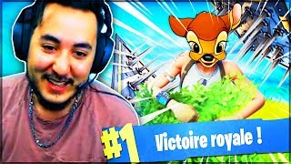ON TENTE DE PIEGER LE PLUS GROS DES BAMBI ! ► FORTNITE