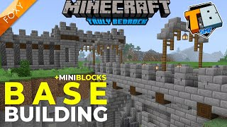BASE BUILDING + Mini Blocks | Truly Bedrock Season 2 [39] | Minecraft Bedrock Edition 1.16.2