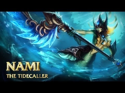 Nami: Champion Spotlight | Gameplay - League of Legends