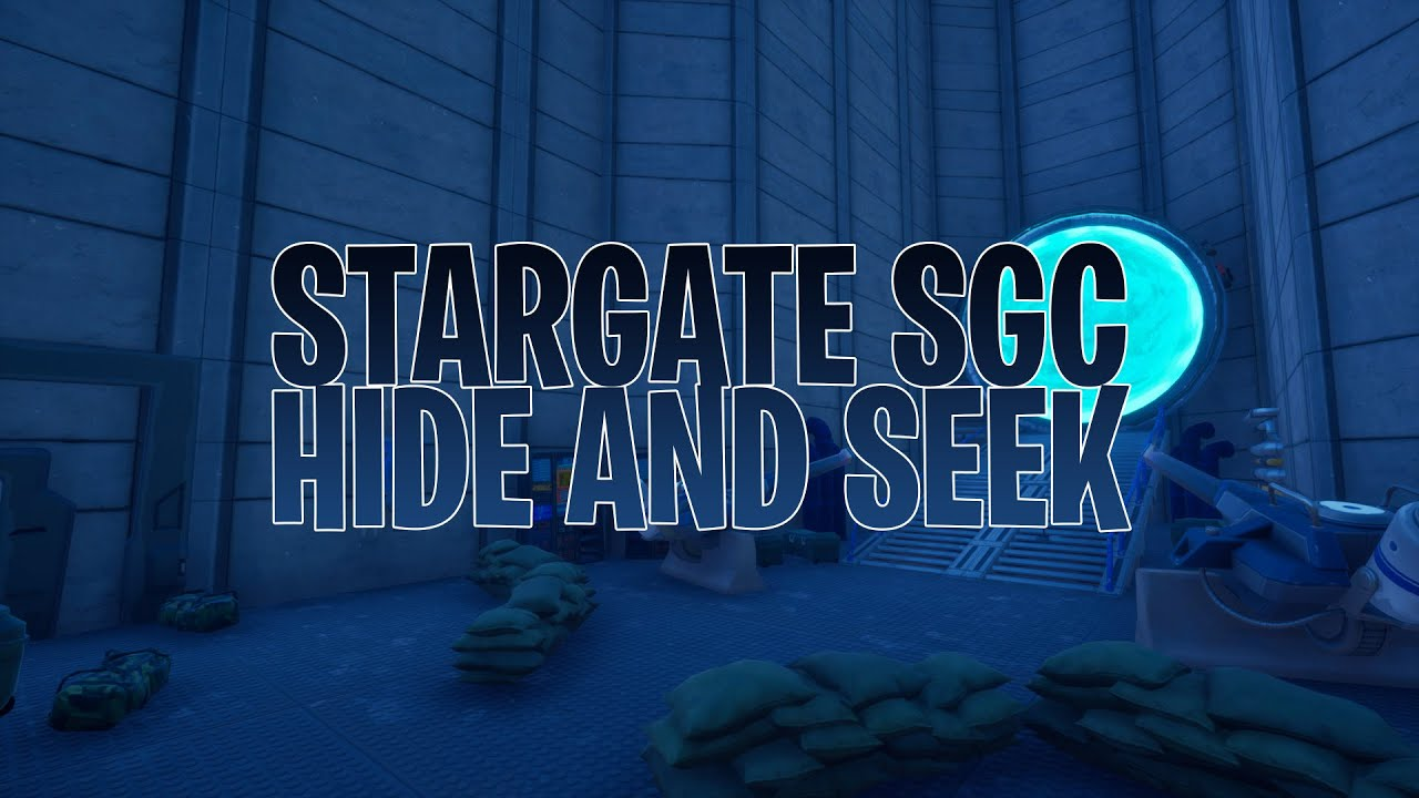 Stargate SGC Hide and Seek (Fortnite Creative Map + Code ...