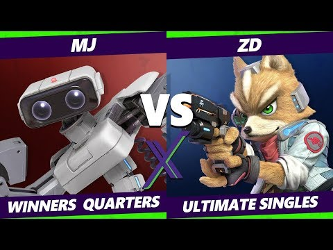 S@X Online 346 Winners Quarters - Mj (ROB) Vs. ZD (Fox) Smash Ultimate - SSBU