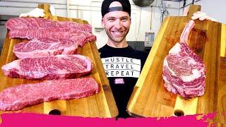 $250 Wagyu Premium Meats Challenge in Miami - Tomahawk, Ribeye & A5   Bird Road Art District