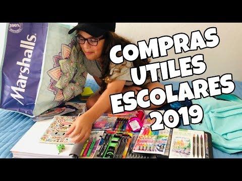 Compras de UTILES ESCOLARES 2019 | SUPER HAUL