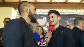 RYAN GARCIA DETAILS MAKE UP W GOLDEN BOY. DUNO BOUT IN NOV & MORE!