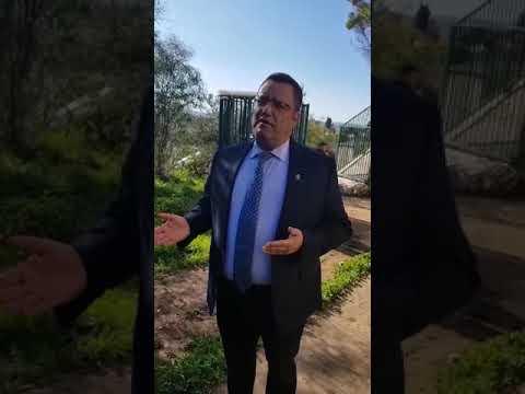 ראש העיר ירושלים מגיב להשחתת בית הכנסת בקריית יובל