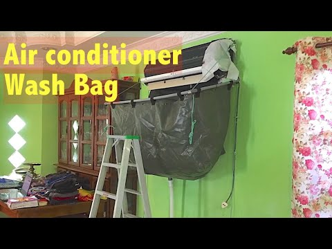 DIY Air conditioner Cleaning Bag