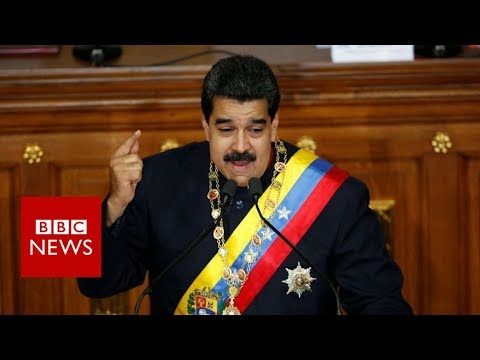 Venezuela's leader on Donald Trump... and the BBC - BBC News