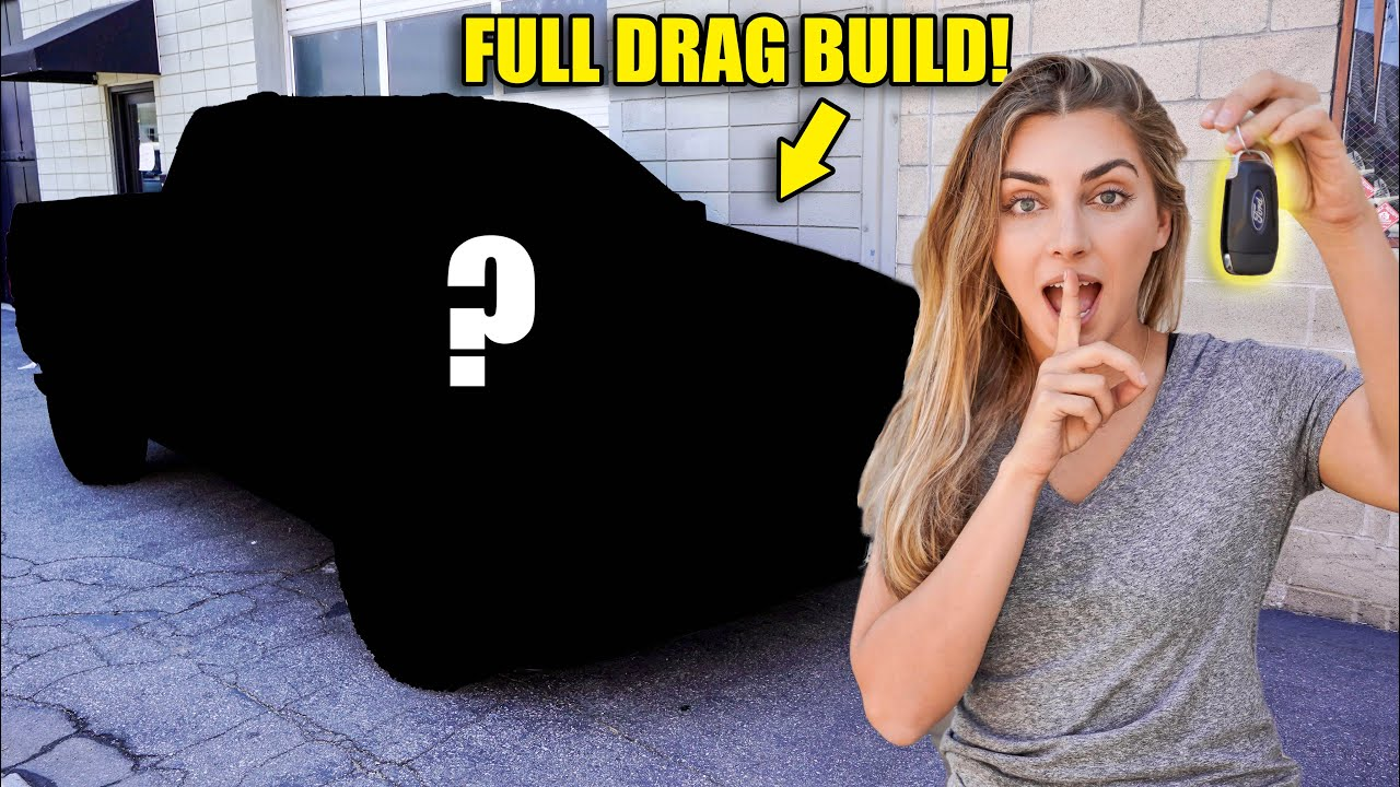 ACTUALLY STEALING BEST FRIENDS TRUCK... and SURPRISING him with his DREAM BUILD! PT 2