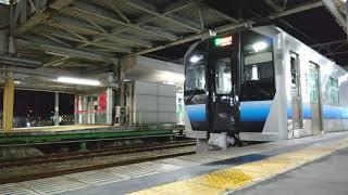 秋田駅 GV-E400系 発車 2021.08.01