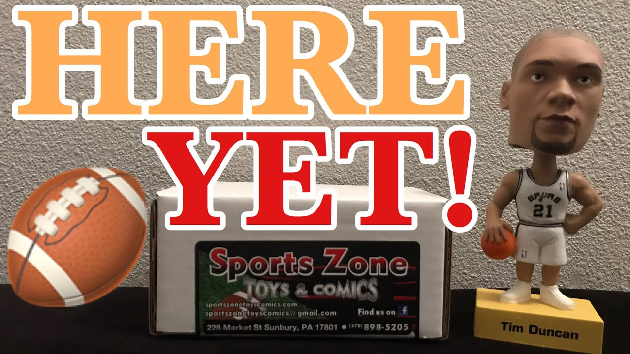 Sports Zone Toys & Comics GOLD FOOTBALL Subscription Box! EMMITT! VET SP! ROOKIE RELIC! NFL SUNDAY🏈