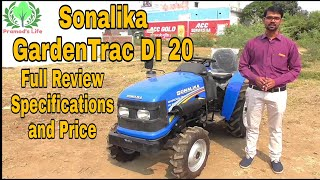 Sonalika Gardentrac DI 20 Mini Tractor | Full Review in Hindi