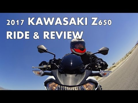 "KAWASAKI""S NAKED SPORTBIKE - 2017 Z650 Ride and Review"