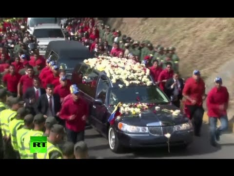Chavez funeral video: Venezuela bids farewell to 'El Comandante'