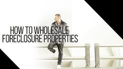 How To Wholesale Foreclosures | The Beginner