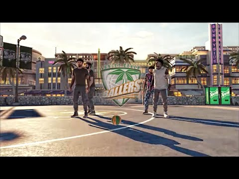 nba-2k15-exclusive-mypark-sunset-beach-gameplay-|-2v2-courts-|-defense-+-animations-ps4-/-xbox-one