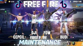 Download lagu Tik Tok Free Fire Maintenance, Update,Lucu,Pro Player,Sultan ,Keren,Spesial Maintenance