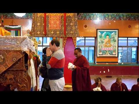 Blessings for Benji, Kopan Monastery, 24th January 2015