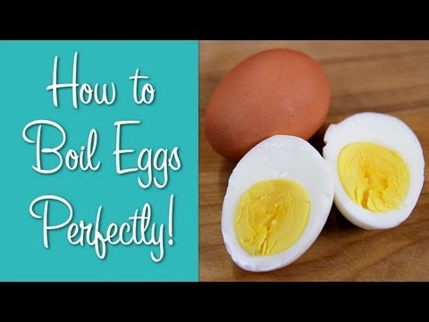How To Boil Eggs - Perfect Hard Boiled Eggs | Hilah Cooking