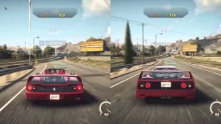 Need For Speed Rivals (Xbox One): Ferrari F50 vs. Ferrari F40