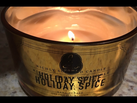 TBT Candle Review: DW Home's Holiday Spice