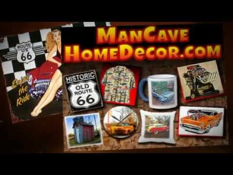 Man Cave Home Decor For Car Guys Youtube