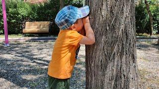 Berat ile Buğra Eski Parkta Saklambaç Oyunu Oynadı