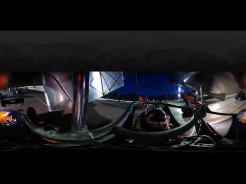 949 Productons: 360fly 4k Hot Laps in a Sprint Car at Bear Ridge Speedway
