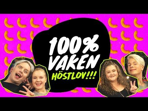 100% Vaken: Höstlov med Felicia Bergström, Daniel H, Beas liv och Jimmie Star